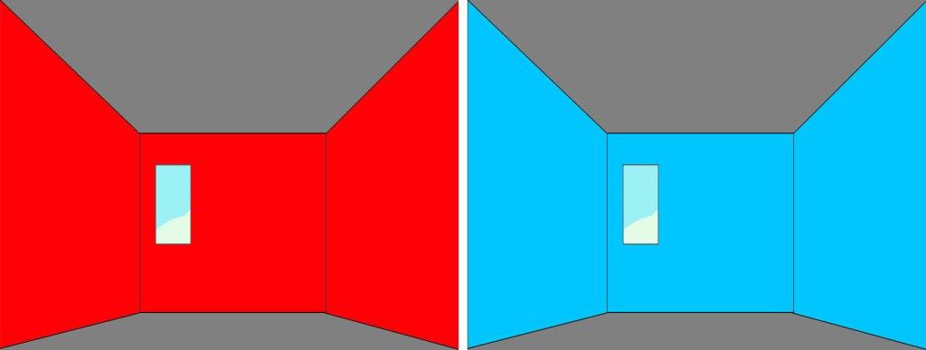 colore pareti larga stretto