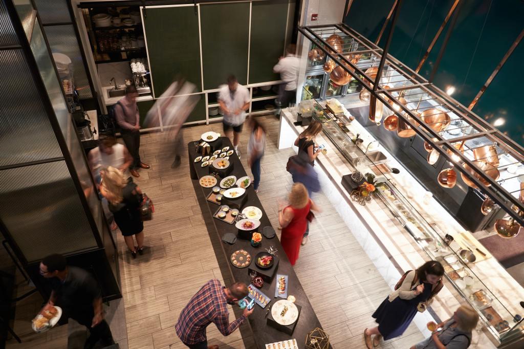 bar del futuro - cucina