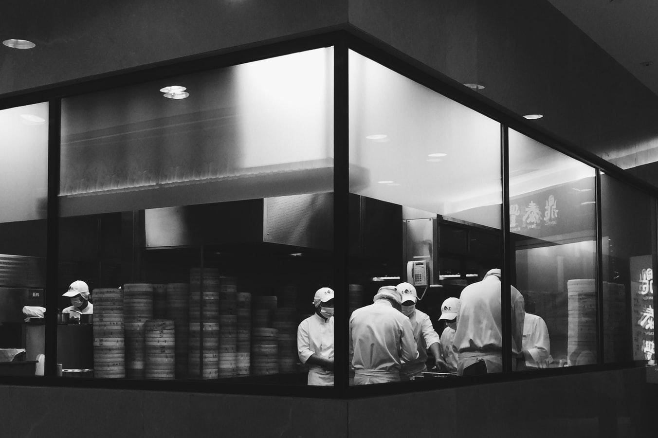 dark kitchen Design 2021